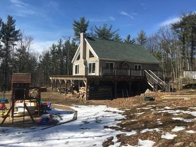 MA-Worcester County Single Family Home For Sale: 222 Minott Rd