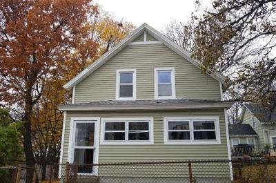 Worcester Single Family Home Under Agreement: 17 Elliott Street