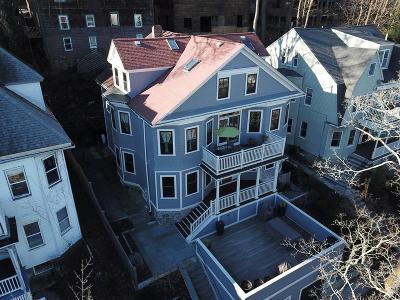 Brookline MA Multi Family Home For Sale: $1,999,000