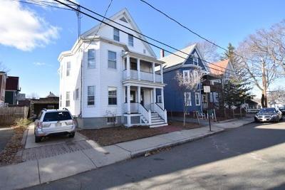 Cambridge Multi Family Home Under Agreement: 8-10 Norumbega Street