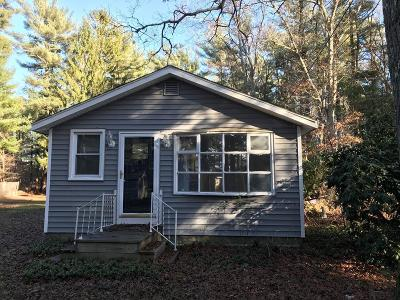 Middleboro Single Family Home For Sale: 15 Woods Lake Ter