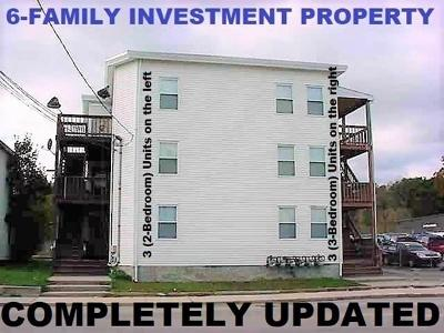 MA-Worcester County Multi Family Home For Sale: 101 Worcester Street