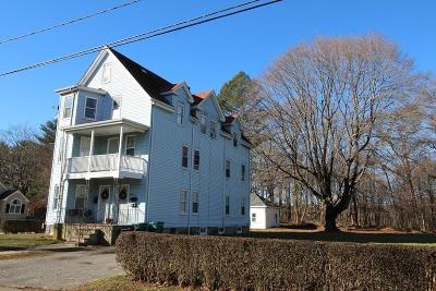Attleboro Multi Family Home Under Agreement: 44 Benefit St.