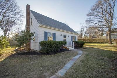 Scituate Single Family Home For Sale: 2 First Avenue