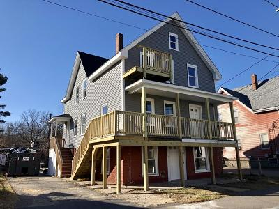 Taunton Multi Family Home Under Agreement: 44 Cottage St
