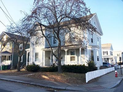 Newton Multi Family Home Under Agreement: 1 Waban Street