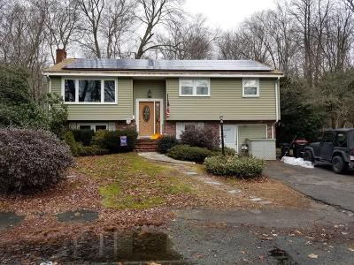 Brockton Single Family Home Under Agreement: 71 Burroughs Rd