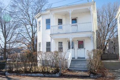 Attleboro Multi Family Home Contingent: 29 Lafayette