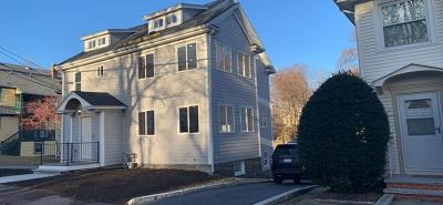 Cohasset, Weymouth, Braintree, Quincy, Milton, Holbrook, Randolph, Avon, Canton, Stoughton Condo/Townhouse Back On Market: 10 Woodward Ave #1
