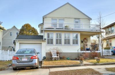 Quincy Multi Family Home Contingent: 55 Apthorp St