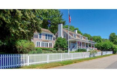 Cohasset MA Single Family Home For Sale: $3,950,000