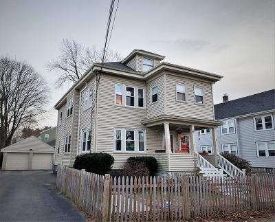 Quincy Multi Family Home Contingent: 50-52 Hughes Street