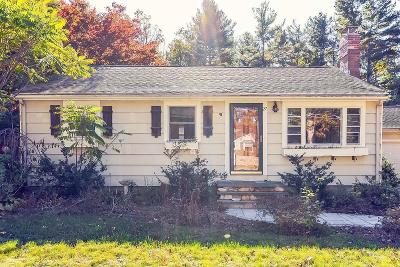 Ashland Single Family Home Under Agreement: 27 Acton Rd