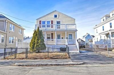 Quincy Multi Family Home Under Agreement: 64 Germain Ave