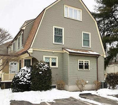 Wellesley Single Family Home Under Agreement: 5 Wiswall Circle #5