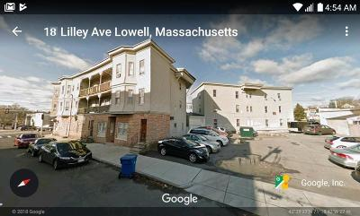 Lowell Multi Family Home Contingent: 31 & 39 Aiken Ave