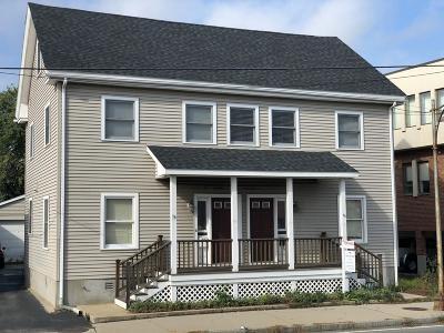Belmont Multi Family Home Under Agreement: 16-18 Brighton St