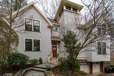 Brookline Single Family Home For Sale: 823 Newton St
