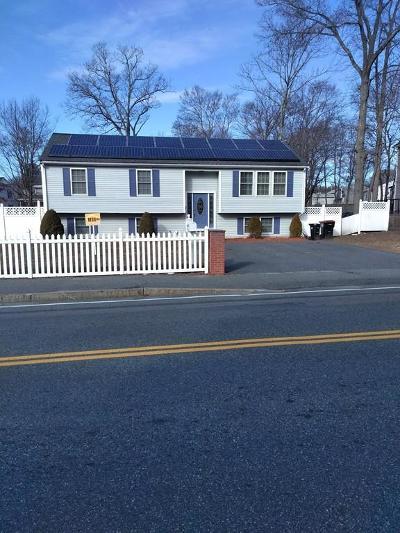 Rockland, Abington, Whitman, Brockton, Hanson, Halifax, East Bridgewater, West Bridgewater, Bridgewater, Middleboro Single Family Home For Sale: 42 Hovendon Ave