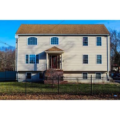 Brockton Single Family Home For Sale: 211 Cross Street