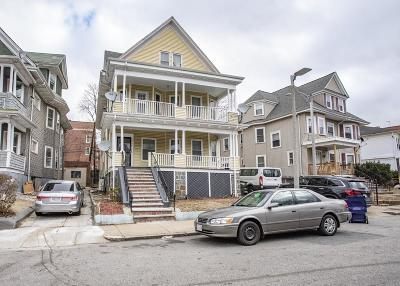 Boston Multi Family Home Contingent: 71 Wellington Hill Street