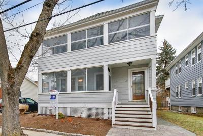Arlington Multi Family Home Under Agreement: 47-49 Sherborn St