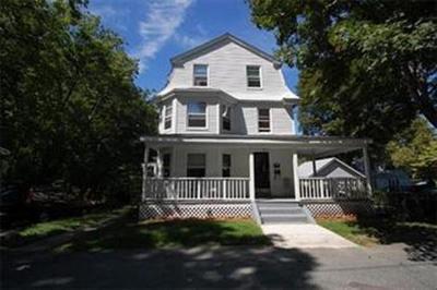 Natick Multi Family Home Under Agreement: 3 Elm Street