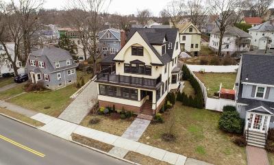 MA-Suffolk County Single Family Home New: 648 W Roxbury Pkwy