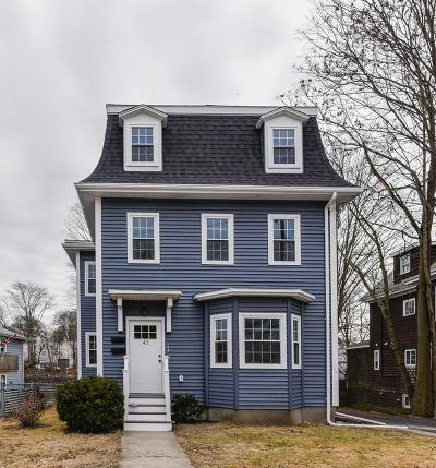 Multi Family Home Contingent: 41 Summer Street