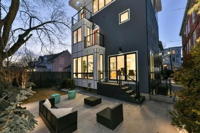 Cambridge Single Family Home Under Agreement: 62 Pearl Street