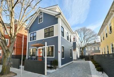 Cambridge Single Family Home Under Agreement: 64 Pearl Street
