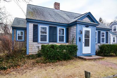 Barnstable Single Family Home For Sale: 37 Elm