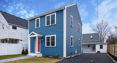 Quincy Single Family Home Under Agreement: 11-13 Bell Street