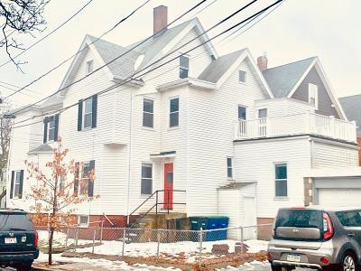 Somerville Multi Family Home Under Agreement: 18 Grant St