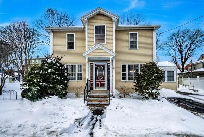 Stoneham Single Family Home Contingent: 45 Marble Street