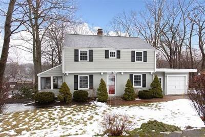Needham Single Family Home For Sale: 165 Thornton Rd