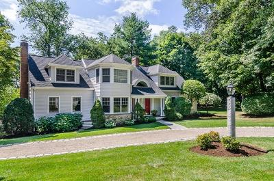 Wellesley Single Family Home For Sale: 22 Chatham Circle