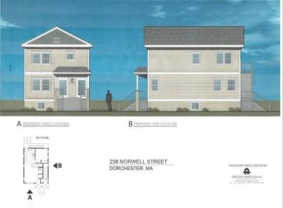 Boston Residential Lots & Land Under Agreement: 238 Norwell