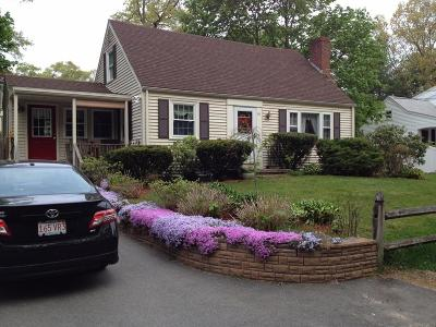 Norwell MA Single Family Home For Sale: $489,000