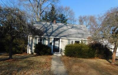 Randolph Single Family Home Under Agreement: 21 Cedar Cir