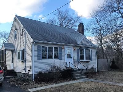 Weymouth Single Family Home For Sale: 605 Front St