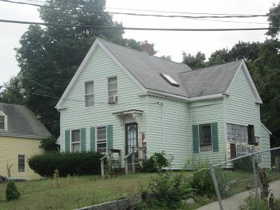 Brockton Single Family Home Under Agreement: 193 Perkins Ave