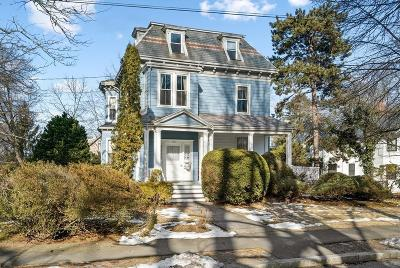 Newton Single Family Home For Sale: 185 Highland Ave