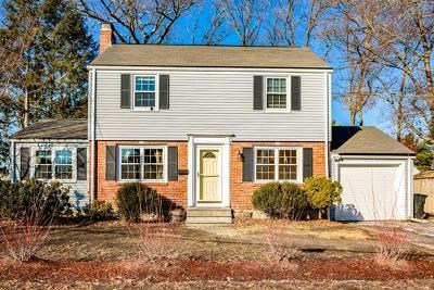 Natick Single Family Home For Sale: 6 Robinhood Rd