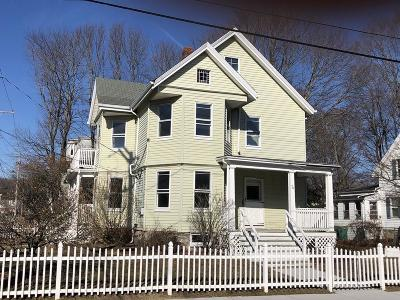 Mansfield Multi Family Home Under Agreement: 70 Pleasant Street