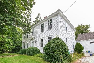 Barnstable Single Family Home For Sale: 3890 Main