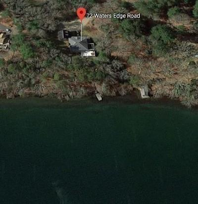 MA-Barnstable County, Plymouth County Single Family Home For Sale: 72 Waters Edge