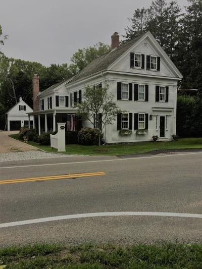 Barnstable Single Family Home For Sale: 3625 Main - Rt.6a