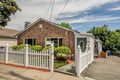 Boston MA Single Family Home Reactivated: $649,000