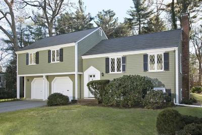 Hingham Single Family Home For Sale: 25 Longmeadow Road